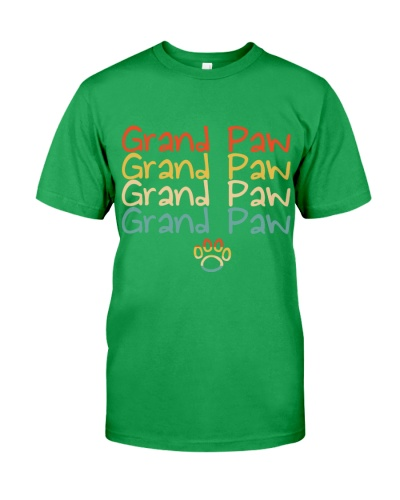 Funny Dog Grand Paw Doggy Puppy Lover Grandpa