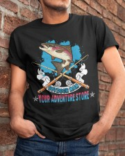 OutDoor Man Your Adventure Store Fishing Classic T-Shirt apparel-classic-tshirt-lifestyle-26