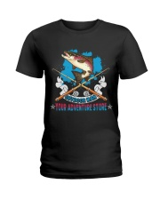 OutDoor Man Your Adventure Store Fishing Ladies T-Shirt thumbnail