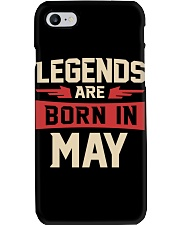 LEGENDS ARE BORN IN MAY Phone Case thumbnail