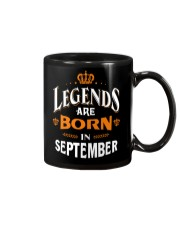LEGENDS ARE BORN IN SEPTEMBER Mug thumbnail