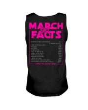 MARCH FACT GIRLS Unisex Tank tile