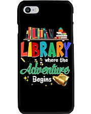 Library Where The Adventure Begins Phone Case thumbnail
