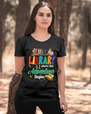 Library Where The Adventure Begins Ladies T-Shirt apparel-ladies-t-shirt-lifestyle-05