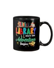 Library Where The Adventure Begins Mug thumbnail