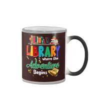 Library Where The Adventure Begins Color Changing Mug thumbnail