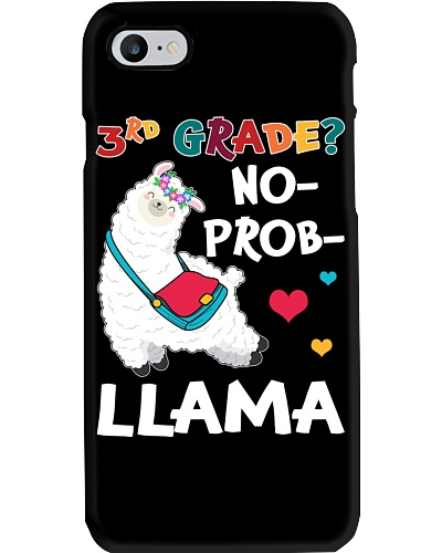 3rd Grade No Prob-Llama Funny Back To School