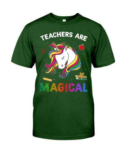 Teachers Are Magical Unicorn