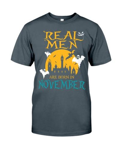 REAL MEN ARE BORN IN NOVEMBER
