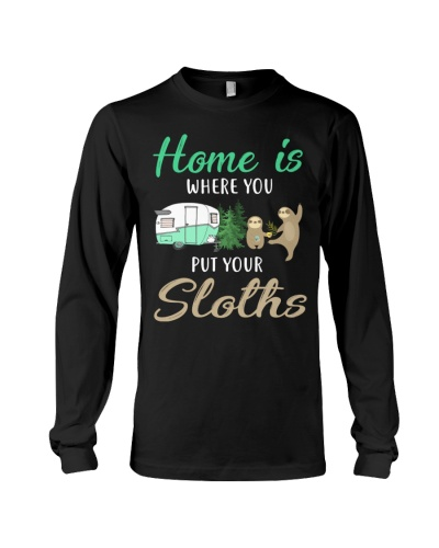Home Is Where You Put Your Sloths
