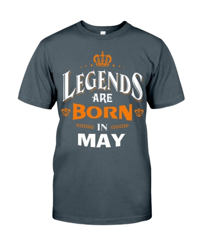LEGENDS ARE BORN IN MAY