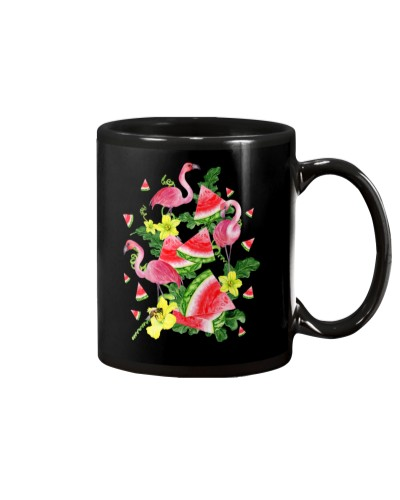 Flamingo Watermelon Tropical Summer Gift
