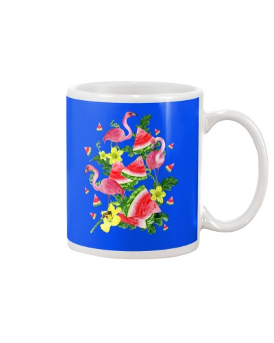 Flamingo Watermelon Tropical Summer Gift