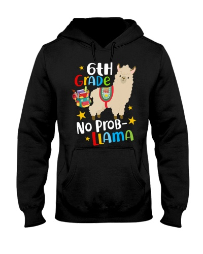 6th Grade No Prob-Llama Back To School Boy Girl