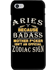 ARIES ZODIAC SIGN Phone Case tile