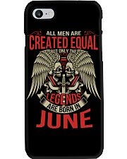 LEGENDS ARE BORN IN JUNE Phone Case thumbnail