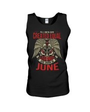LEGENDS ARE BORN IN JUNE Unisex Tank thumbnail