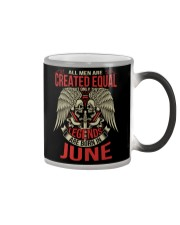 LEGENDS ARE BORN IN JUNE Color Changing Mug thumbnail