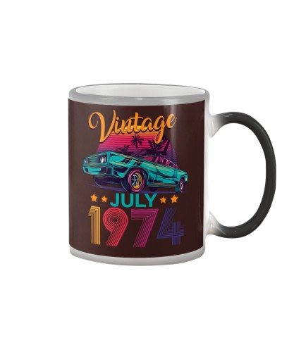 Vintage July 1974 45th Birthday Gift 45 Years Old