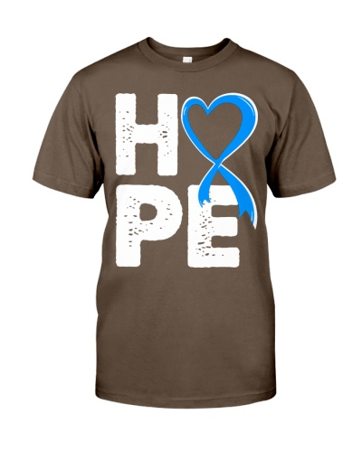 Child Abuse Awareness Hope Blue Ribbon tee
