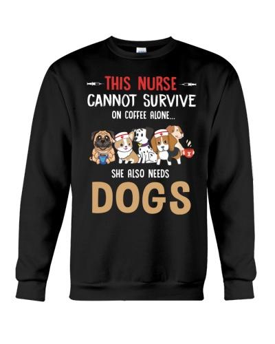 This Nurse Also Needs Dogs Nurse Gift