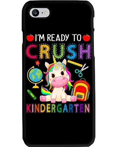 I'm Ready To Crush Kindergarten Unicorn Kids Gift