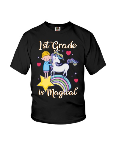 1st Grade Is Magical First Day Of School Unicorn