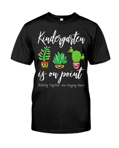 Team Kindergarten Back To School Cactus Gift
