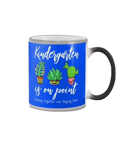 Team Kindergarten Back To School Cactus Gift
