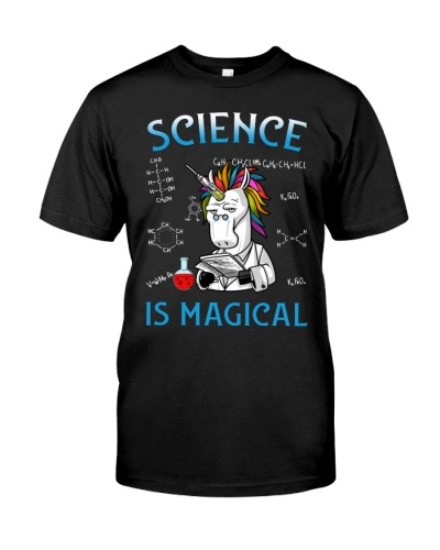 Science Is Magical Unicorn For Science Lover