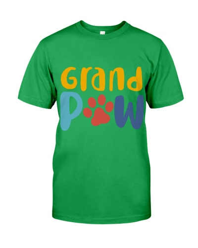 Grandpaw Funny Grandpa Dog Lovers Gift