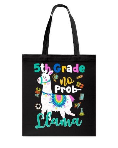 5th Grade No Prob-Llama Funny Back To School