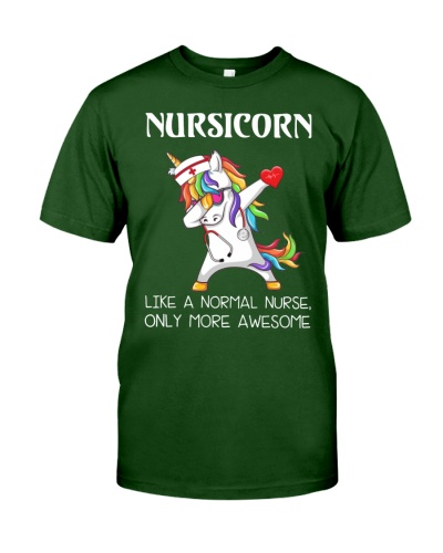 Dabbing Unicorn Nursicorn Like A Normal Nurse