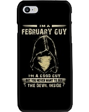 FEBRUARY GUY Phone Case thumbnail