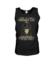 FEBRUARY GUY Unisex Tank thumbnail