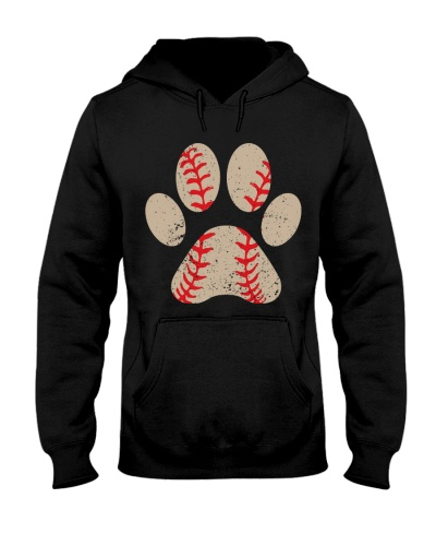 Dog Paw Baseball Perfect Gift For Baseball Lovers