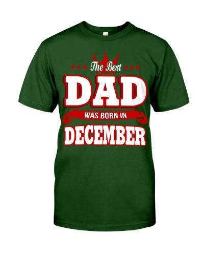 THE BEST DAD WAS BORN IN DECEMBER