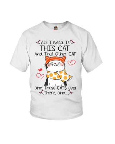 All I Need Is This Cat And That Other Cat Funny