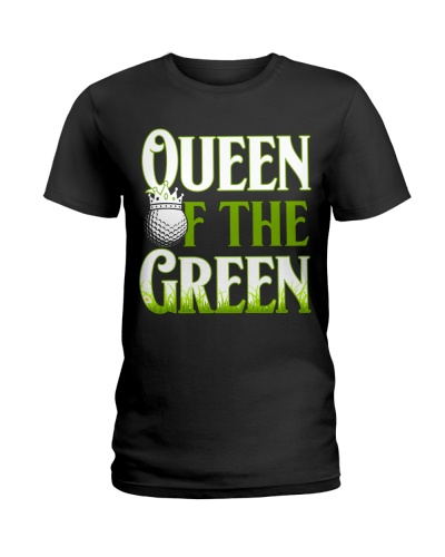 Funny Golf Queen Of The Green