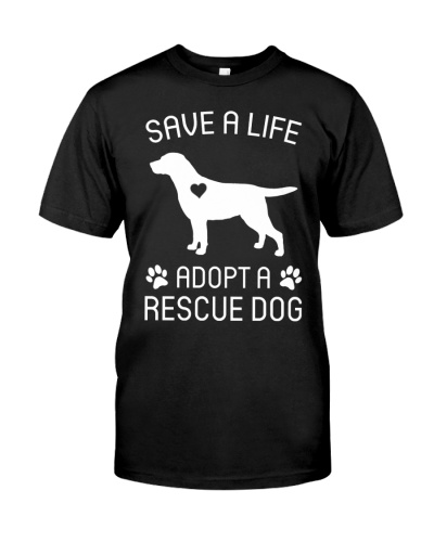 Save A Life Adopt A Rescue Dog