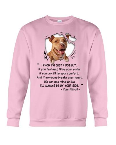 I KNOW IM JUST A PITBULL DOG