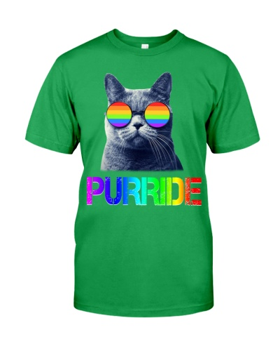 Gay Pride LGBT Cat Gift Purride