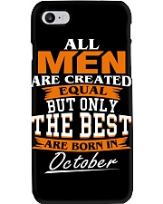 ONLY THE BEST ARE BORN IN OCTOBER Phone Case thumbnail