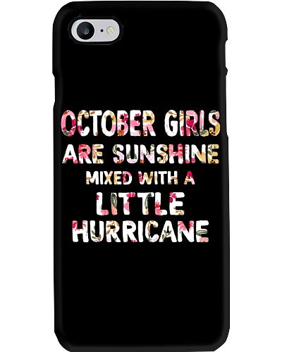 OCTOBER GIRL SUNSHINE MIXED WITH LITTLE HURRICANE