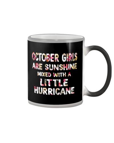 OCTOBER GIRL SUNSHINE MIXED WITH LITTLE HURRICANE