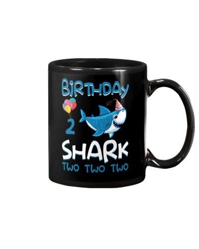 Birthday Shark 2 Years Old 2017 2nd Birthday Kids