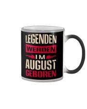 LEGENDEN WERDEN IM AUGUST GEBOREN Color Changing Mug thumbnail