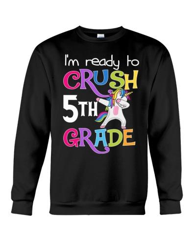 I'm Ready Crush 5th Grade Unicorn Back To School