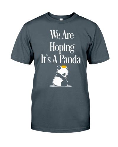 HOPING IT IS A PANDA