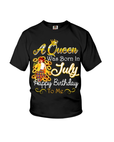 A Queen Was Born In July Happy Birthday To Me